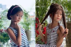 Con gái Đoan Trang tạo dáng xuất thần, xả dáng vẫn đẹp như thơ