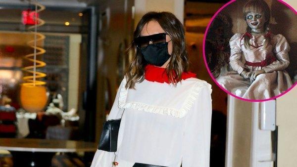 Fashion icon như bà xã Beckham cũng có lúc mặc xấu như búp bê ma-3