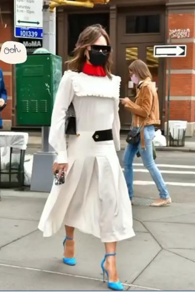 Fashion icon như bà xã Beckham cũng có lúc mặc xấu như búp bê ma-2