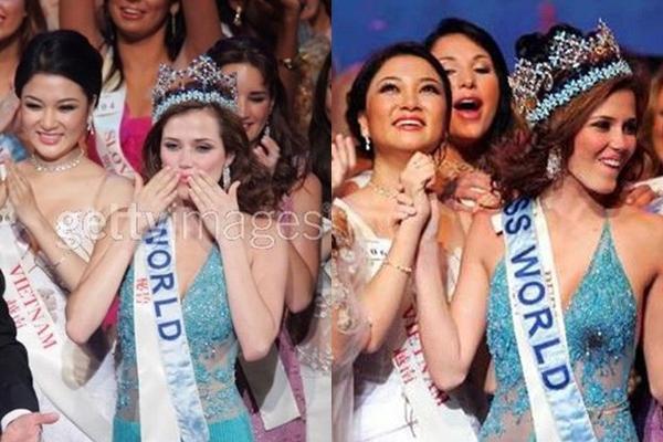 Hóa ra Nguyễn Thị Huyền lọt top 15 Miss World không nhờ giám khảo-4