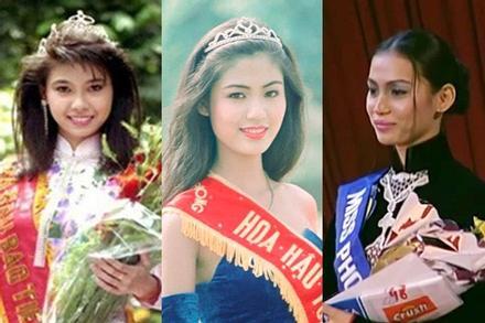 3 Hoa hậu Việt Nam cùng sinh năm 1976