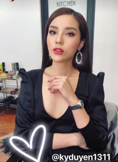 Kỳ Duyên bị chê như tượng sáp bên Hoa hậu Hoàn vũ-12