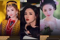 Tâm Tít hóa mỹ nhân cổ trang xinh như 'thần tiên tỷ tỷ' Lưu Diệc Phi