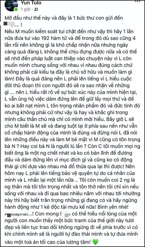 Hoài Lâm lộ diện sau tâm thư 4 lần vào bệnh viện tâm thần-3