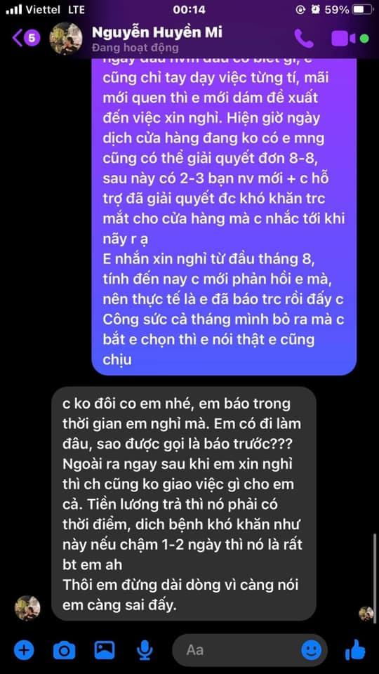 Bà xã Đỗ Duy Mạnh bị tố quỵt lương nhân viên giữa lúc khó khăn-9