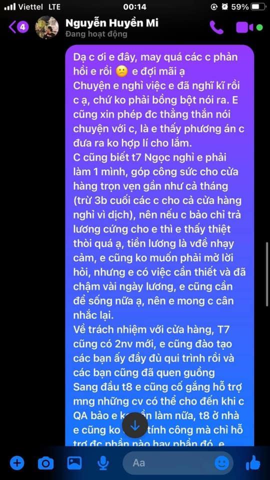 Bà xã Đỗ Duy Mạnh bị tố quỵt lương nhân viên giữa lúc khó khăn-7
