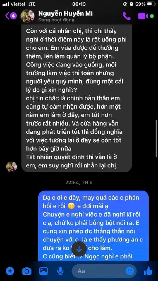Bà xã Đỗ Duy Mạnh bị tố quỵt lương nhân viên giữa lúc khó khăn-6