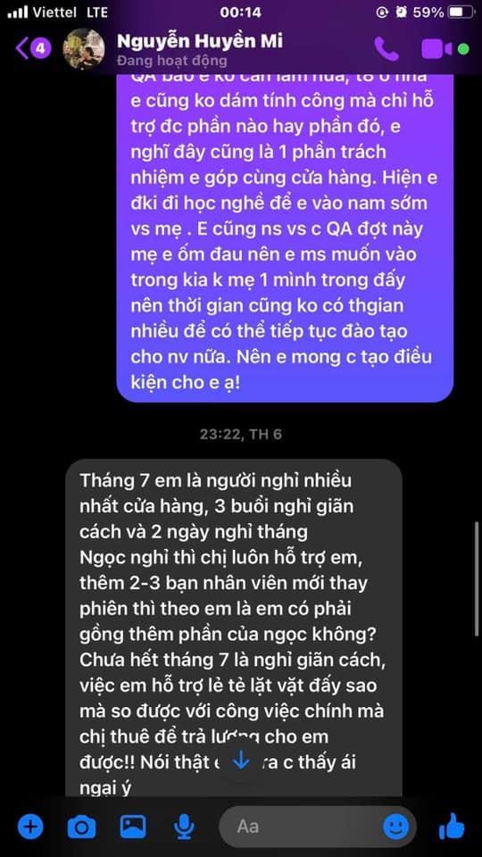 Bà xã Đỗ Duy Mạnh bị tố quỵt lương nhân viên giữa lúc khó khăn-8