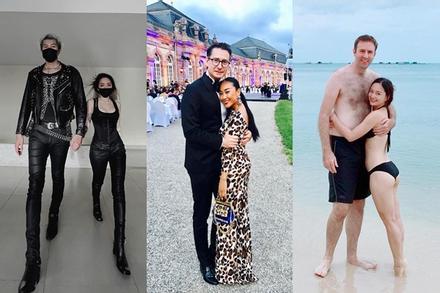 5 cặp đôi lệch chiều cao nhất Vbiz: Vợ chồng Lan Phương ẵm top 1
