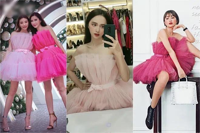 Lương Thùy Linh bị nghi mặc váy nhái Kendall Jenner-9