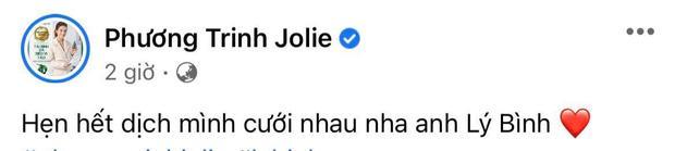 Phương Trinh Jolie chốt đơn Lý Bình, thông báo thời gian cưới