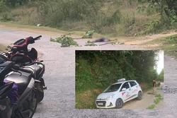 Tài xế taxi bị khách cứa cổ sát hại, gục chết trên đường
