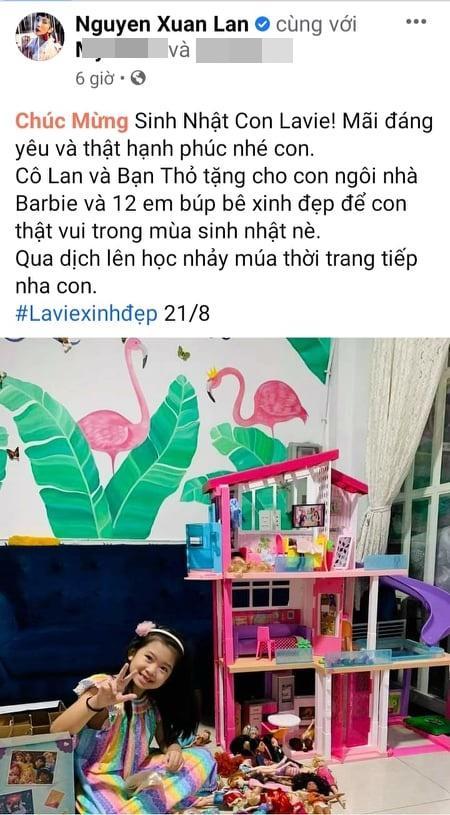 Lời nhắn của sao Việt tới con gái Mai Phương khi tròn 8 tuổi-1
