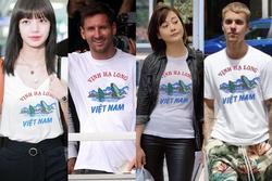 Từ Phương Oanh đến Lisa, Messi đồng loạt diện áo Vịnh Hạ Long?
