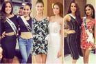 Phạm Hương đọ sắc dàn Miss Universe: Thua 2 thắng 1