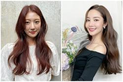 Nhuộm tóc nâu trà không cần tẩy 'hót hòn họt' như Han So Hee, Park Min Young