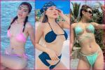 Mỹ nhân Việt mặc bikini ngược: Hoa hậu xập xệ, hot girl xổ mỡ