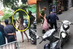 Không đeo khẩu trang, bà chị lý sự: 'Không có tiền, không nộp phạt'