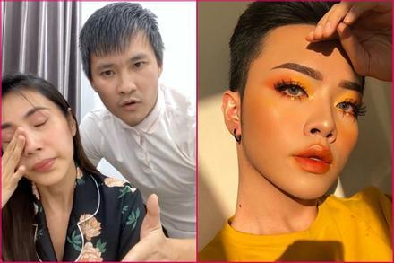 Thủy Tiên khóc mà beauty blogger chỉ hỏi 'kẻ mắt gì không lem?'