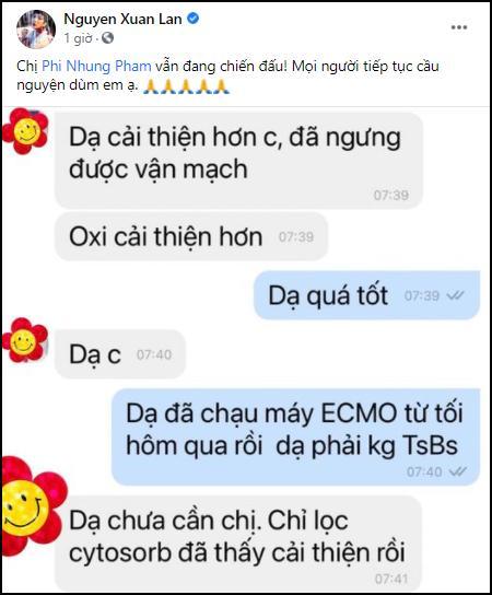 Thông tin sức khỏe Phi Nhung hiện tại từ Bệnh viện Chợ Rẫy