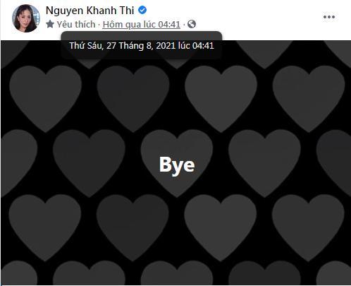 Facebook Khánh Thi để chế độ độc thân, treo 2 status trà xanh