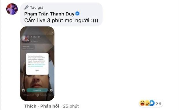 Thanh Duy bị cấm livestream vì hành động khiêu dâm?-2