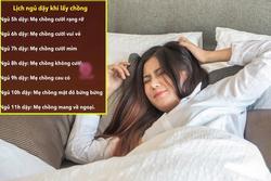 Nàng dâu kể 'lịch ngủ sau khi lấy chồng', hội chị em phát ớn