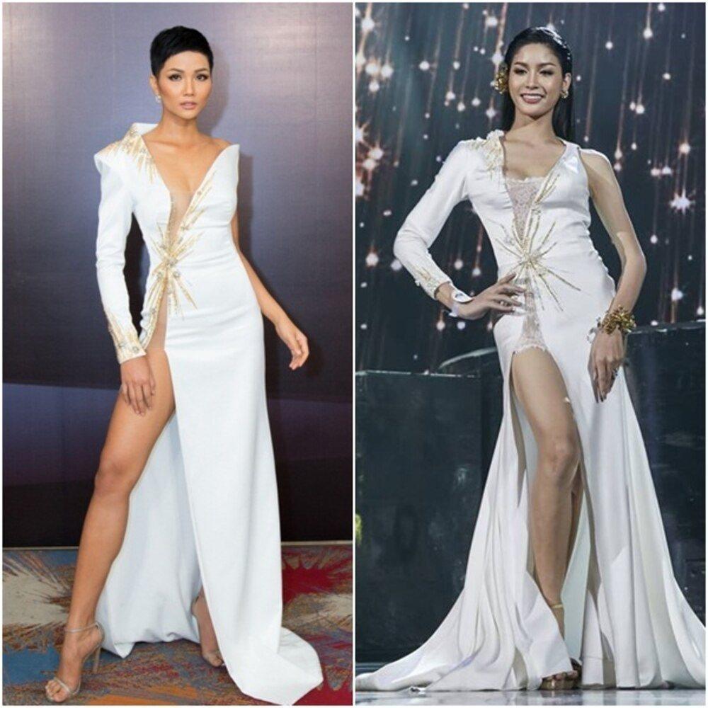 Hoa hậu - Á hậu Việt là nạn nhân trong nghi án đạo nhái trang phục?-5