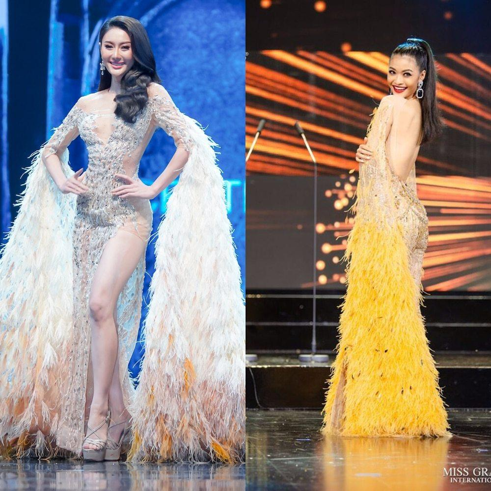 Hoa hậu - Á hậu Việt là nạn nhân trong nghi án đạo nhái trang phục?-10