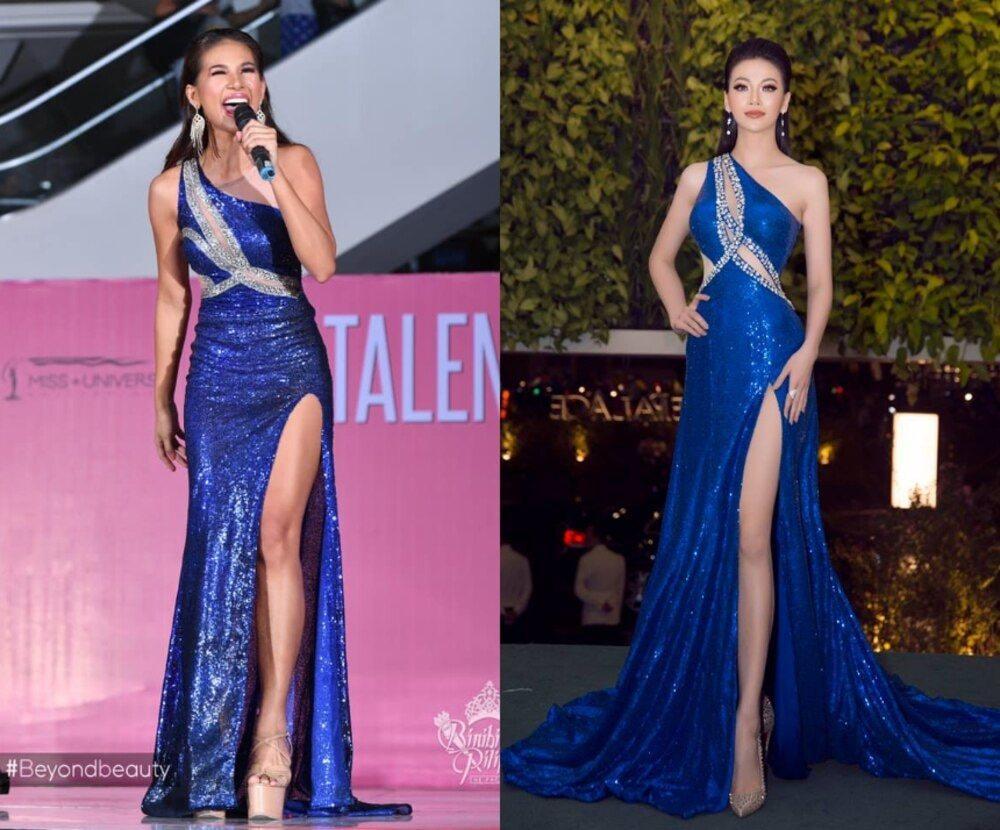 Hoa hậu - Á hậu Việt là nạn nhân trong nghi án đạo nhái trang phục?-12