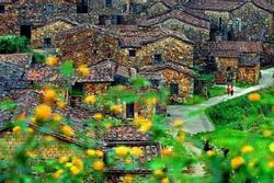 Ngôi làng cổ hơn 200 tuổi làm bằng loại vật liệu cực đặc biệt
