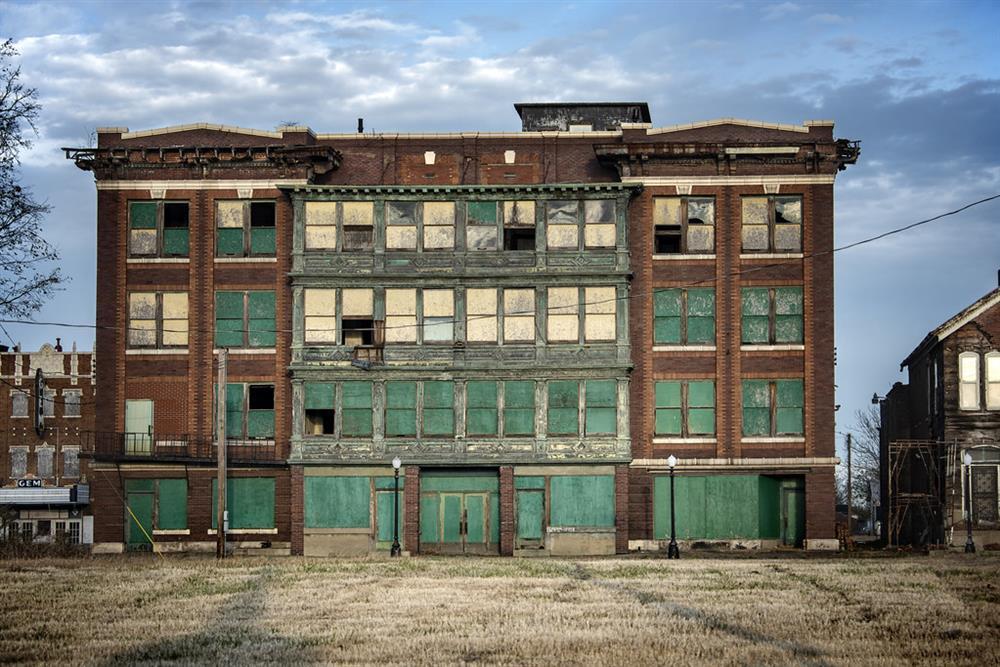 Thị trấn ma có kiến trúc cực bắt mắt ở miền Tây nước Mỹ-2