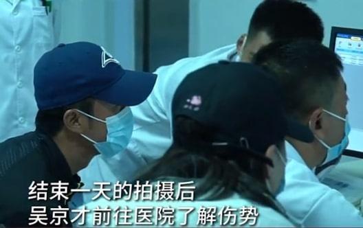 Ngô Kinh gặp tai nạn trên phim trường-2