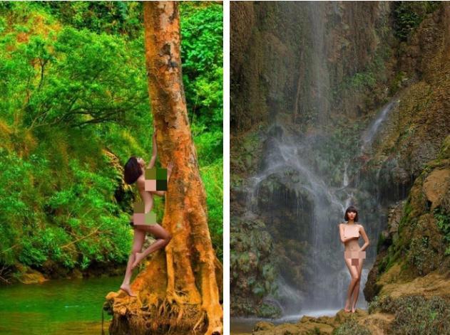 Bộ ảnh nude khoả thân vì môi trường xôn xao dư luận 10