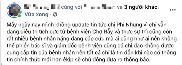 Đại diện lên tiếng trước thông tin Phi Nhung phải can thiệp ECMO-1
