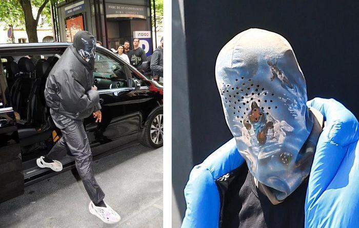 Kim Kardashian xuất hiện với bộ đồ như khủng bố xuống phố-6