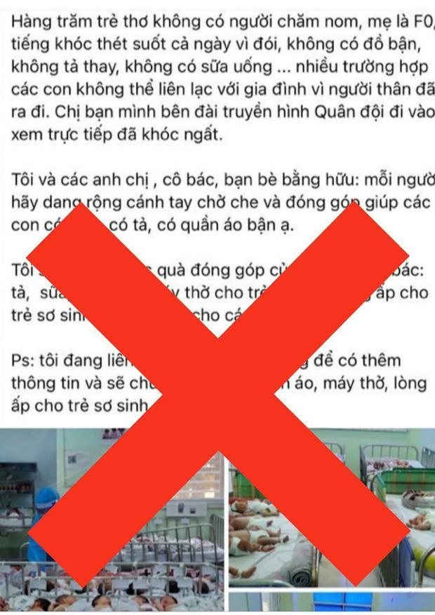 BV Hùng Vương bác tin trăm bé sơ sinh có bố mẹ F0 bị thiếu tã sữa-2