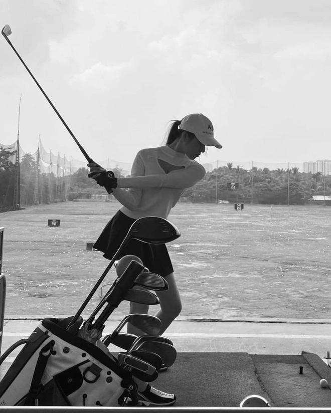 MC Thanh Thanh Huyền khoe chơi golf, netizen cà khịa từng câu chữ-2