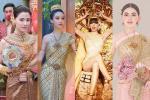 Cùng mặc Quốc phục Thái Lan, Lisa có đọ lại Hoa hậu chuyển giới?