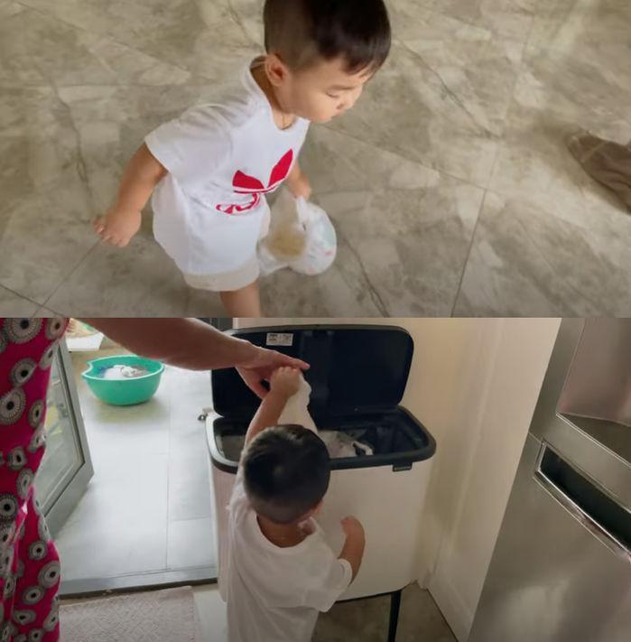 Vlog con trai Hòa Minzy bị xóa thẳng vì cảnh nhạy cảm?-7