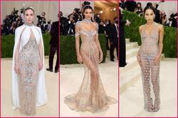 Kendall Jenner cầm đầu phe 'mặc mà như không' ở Met Gala 2021