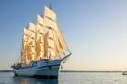 Chi 2.500 USD du lịch trên thuyền buồm lớn bậc nhất thế giới