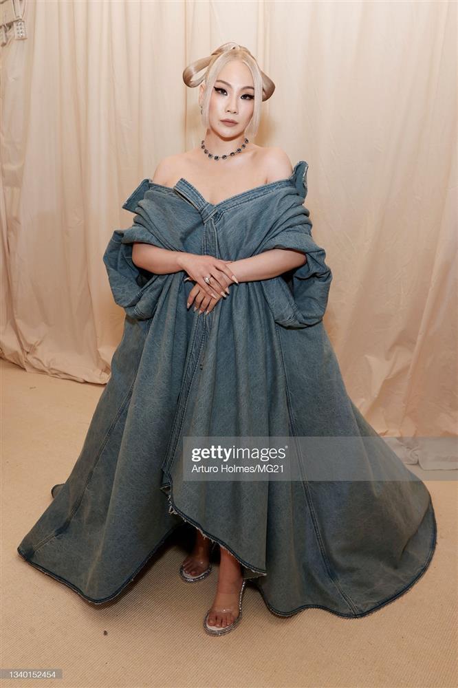CL mặc mỗi quần nội y cũng chặt đẹp cô em Rosé tại Met Gala-5