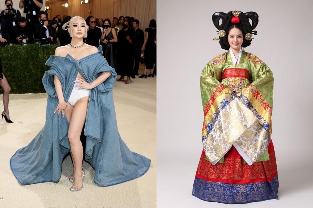 CL mặc mỗi quần nội y cũng chặt đẹp cô em Rosé tại Met Gala-6
