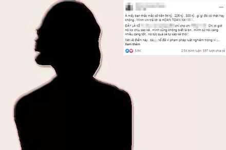 'Cậu IT' khẳng định nữ đại gia 'vu khống, dọa rồ' nghệ sĩ từ thiện!