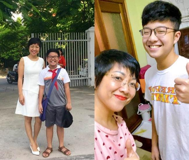 MC Thảo Vân đứng hình vì câu nói của quý tử 16 tuổi về mẹ-1