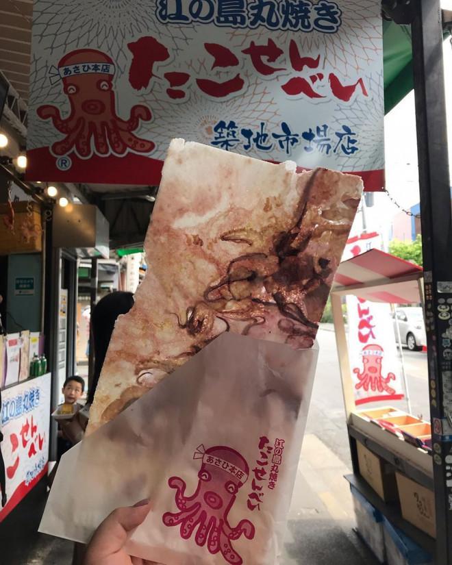 Món bánh mỏng tang, nhìn như bức tranh trừu tượng ở Nhật Bản-1