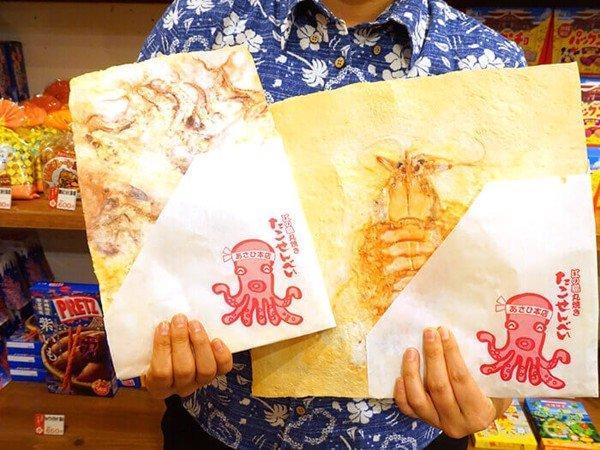 Món bánh mỏng tang, nhìn như bức tranh trừu tượng ở Nhật Bản-3