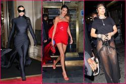 Hậu Met Gala 2021: Kim Kardashian lộ mặt, Rihanna khoe hông