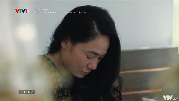 Hương Vị Tình Thân tập 34: Bà Xuân lại bị mẹ chồng đánh tơi tả-3